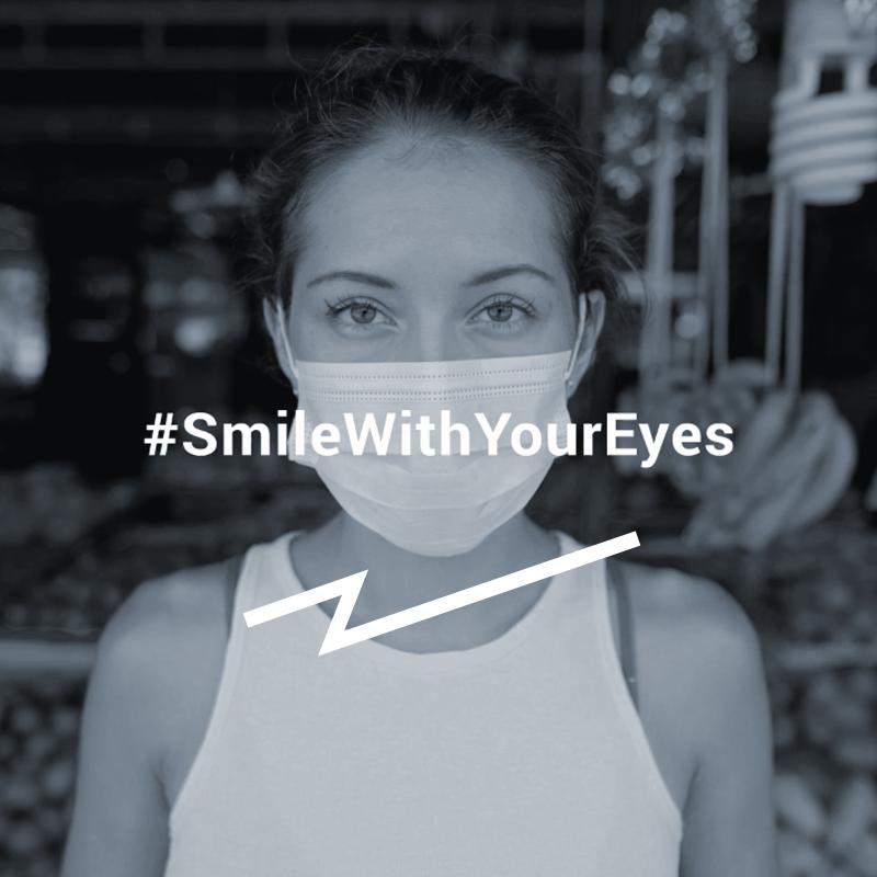 #SmileWithYourEyes
